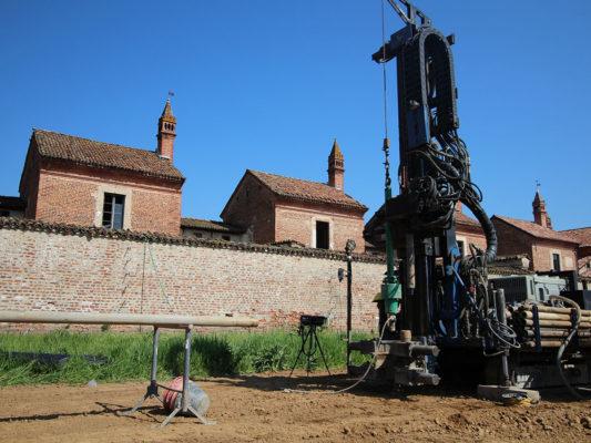 Sondaggi geotecnici per la caratterizzazione dei terreni