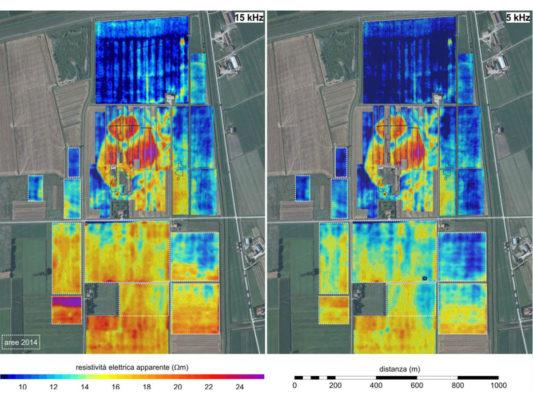 Prospezione elettromagnetica FDEM estensiva su un villaggio terramaricolo dell'Età del Bronzo