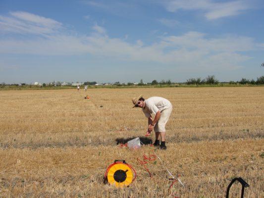 Prospezioni geofisiche per la caratterizzazione di un sito terramaricolo dell'Età del Bronzo in Pianura Padana